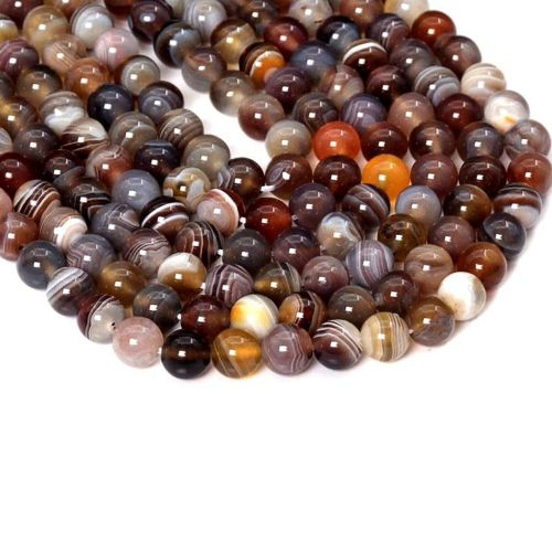 Natural Agate Gemstone Beads String AAA Quality