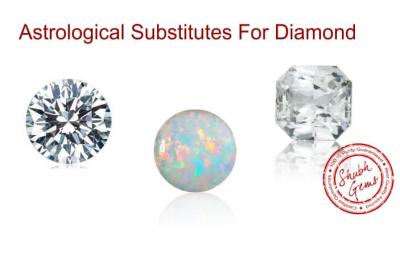Preferred Astrological Substitutes for Diamond
